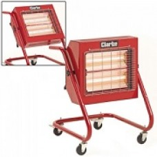 Clarke Devil 370SP Quartz Halogen Heater - 230 Volt Model