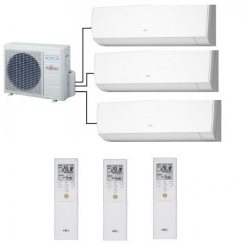 Fujitsu Aoyg18lat3 3 Indoor Units