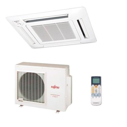 Fujitsu auyg14lvlb inverter cassette heat pump Inverter heat pump for swimming pool