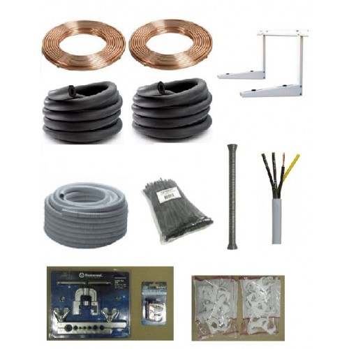 Heat Pump Air Conditioning Installation Kit Kit C