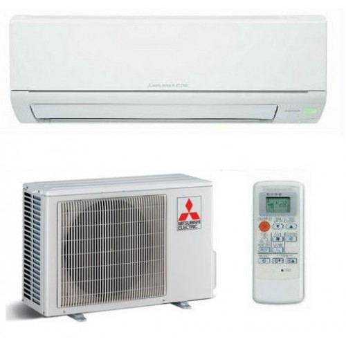 Electric Heat And Air Wall Units : Mitsubishi electric msz dm va wall heat pump