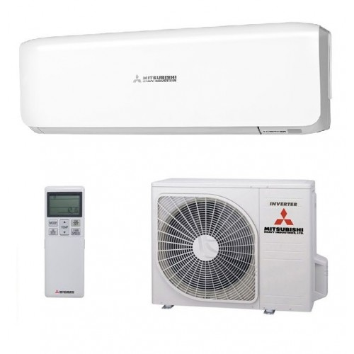 mounted heat conditioning new unit mitsubishi wall conditioner air of image and