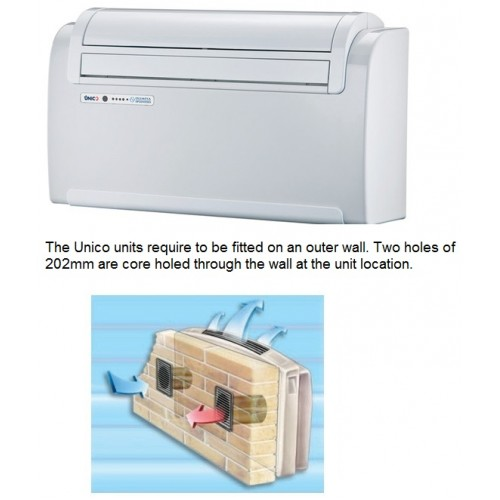 Unico 12 Sf Inverter Air Conditioning